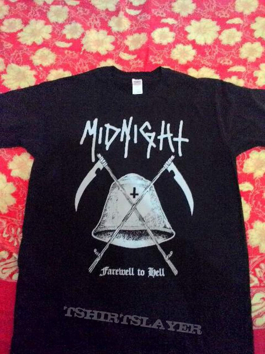 Midnight farewell to hell shirt
