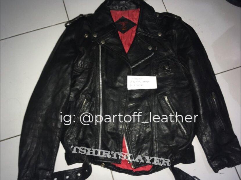 Petroff style leather jacket M
