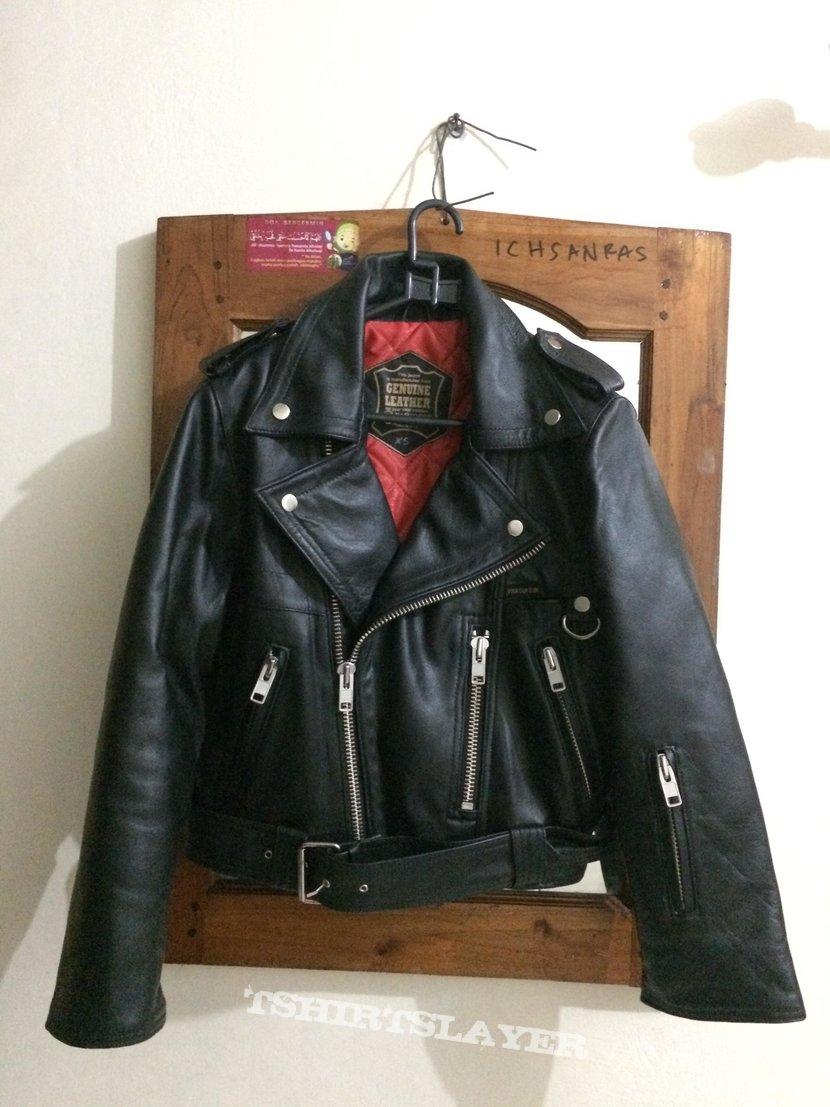 petroff style leather jacket XS NEW