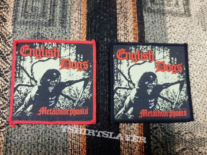 English dogs metalmorphosis patches