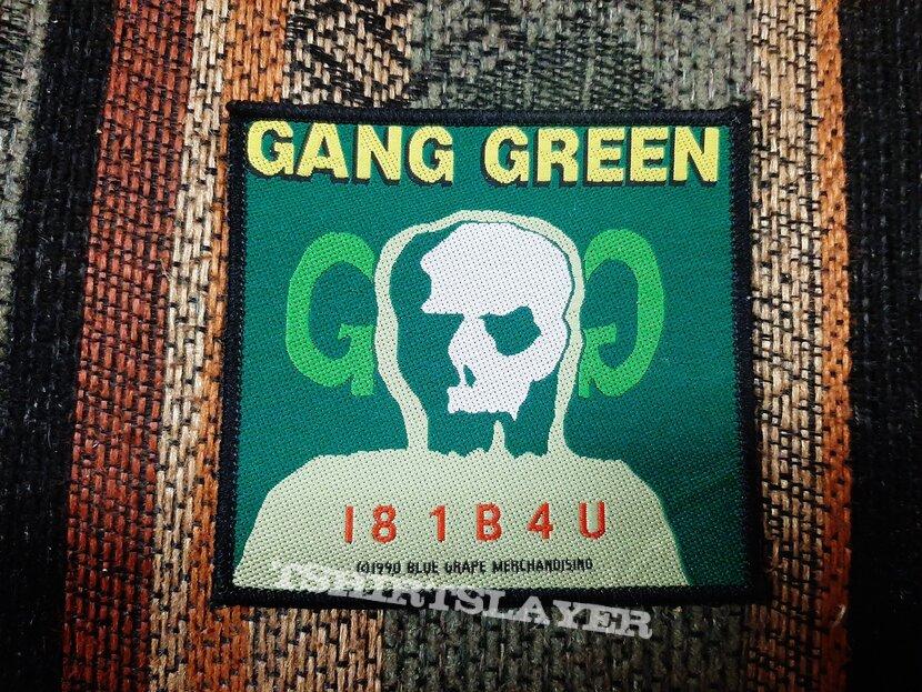 Gang green I81B4U patch
