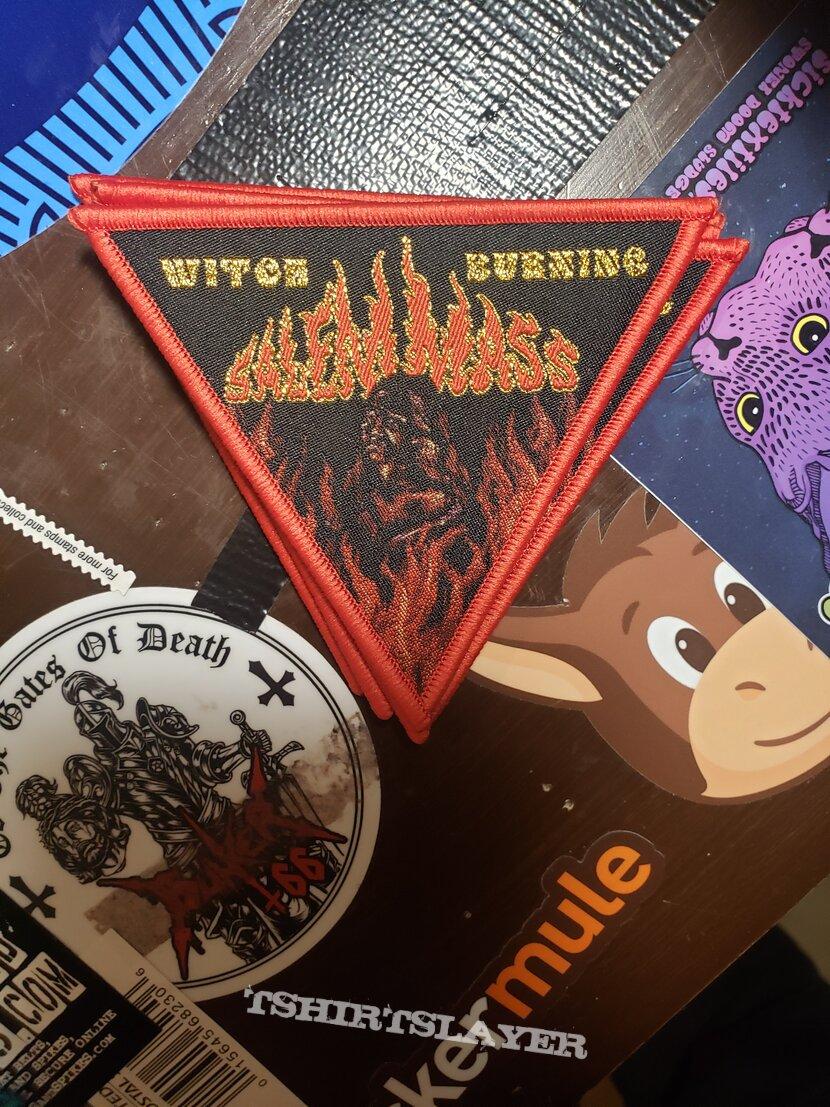 Salem Mass - Witch Burning patch