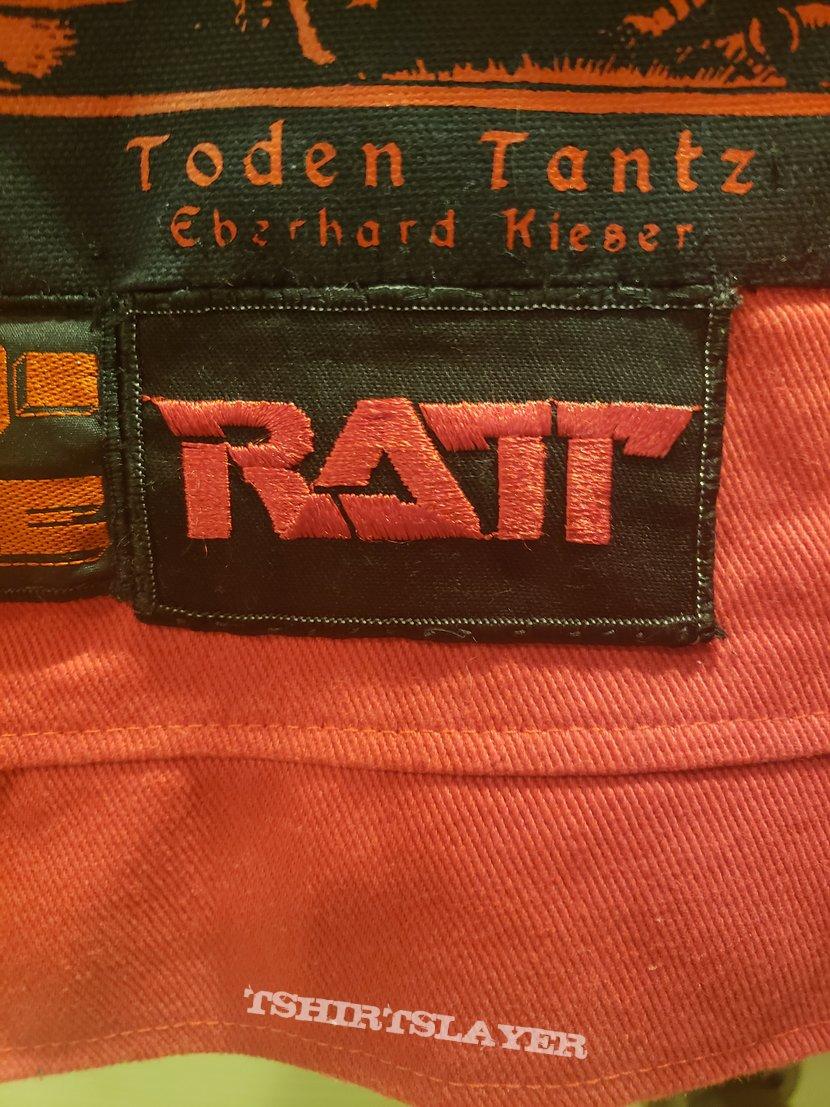 Vintage ratt patch.