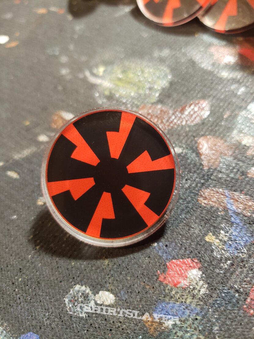 Banzai Speed Wheel - Acrylic pin