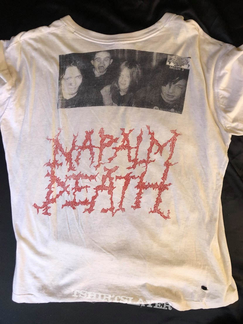 1988 Napalm Death From Enslavement to Obliteration Promo