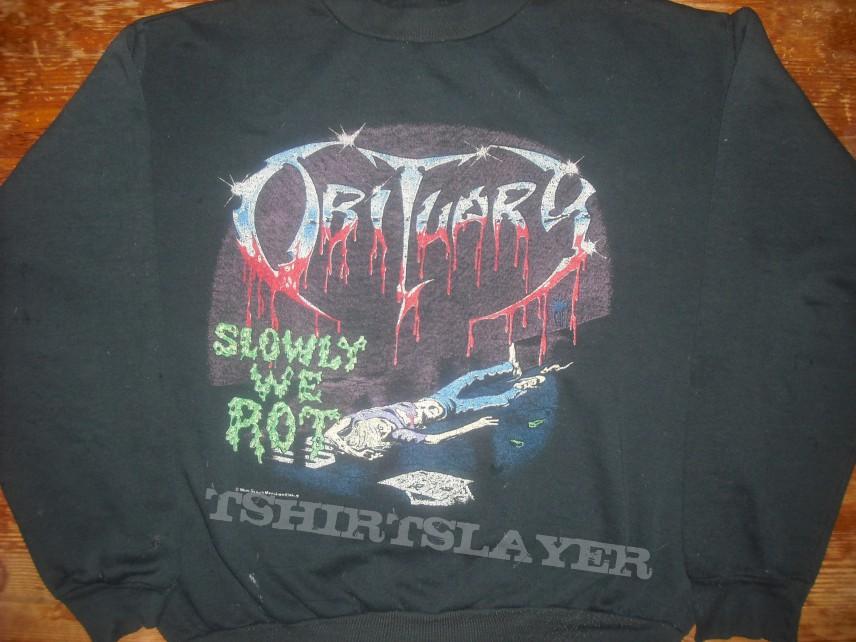 Obituary - Slowly we rot sweater