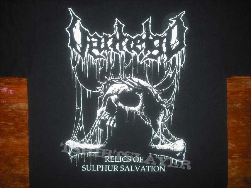Vanhelgd - Relics of sulphur salvation T-shirt