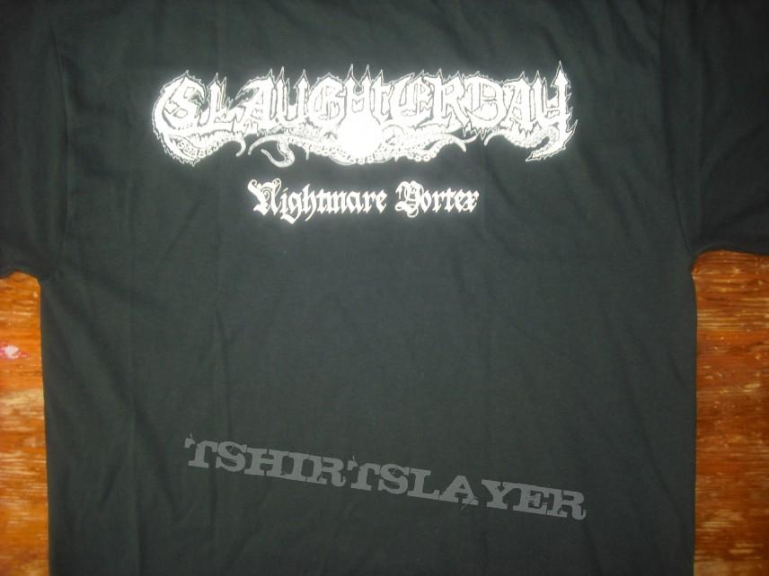 Slaughterday - Nightmare Vortex T-shirt