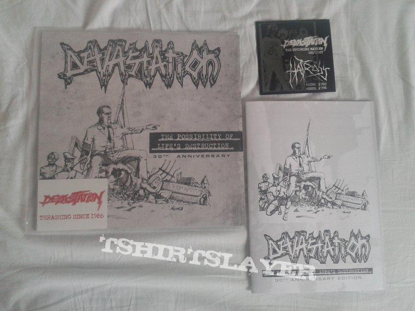 Devastation - The Possibility Of Life's Destruction • 30th Anniversary lp