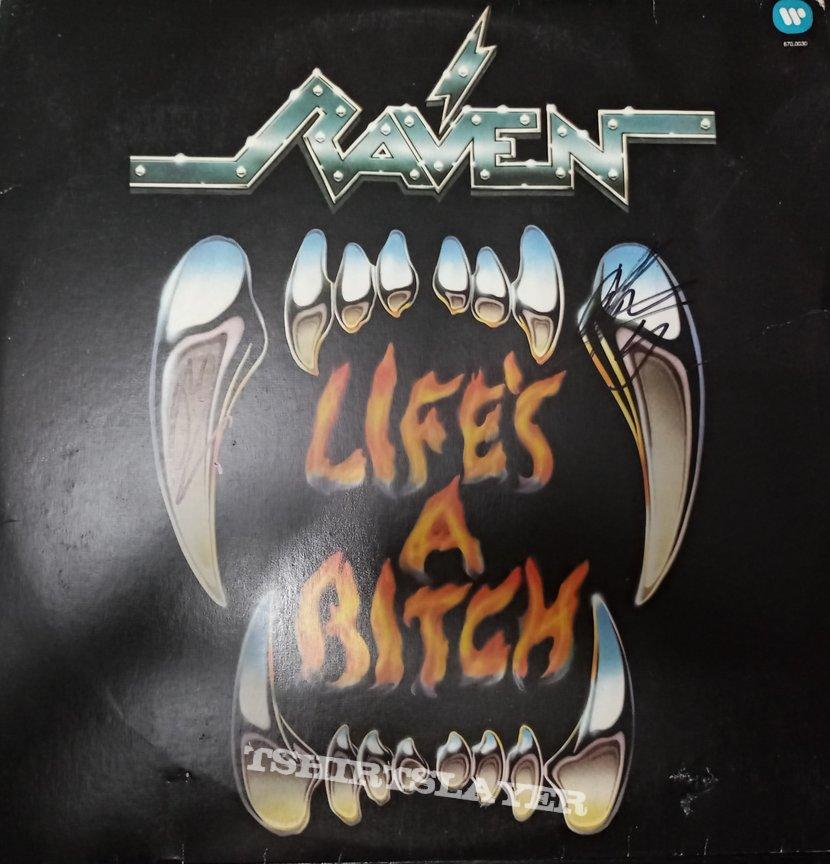 Life's a Bitch - Brazilian edition, signed