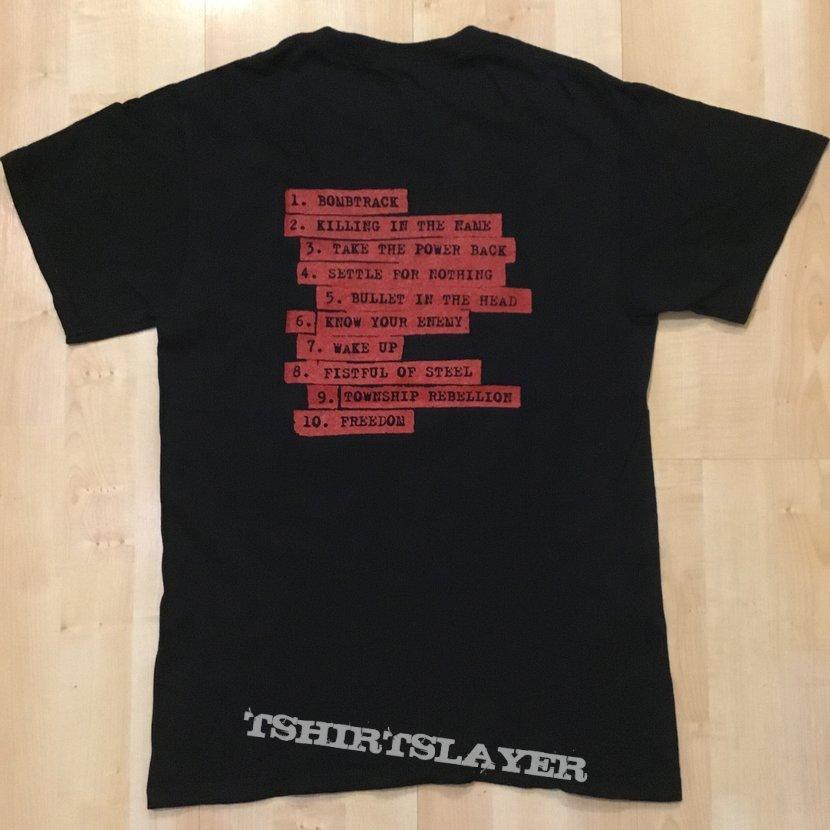 RATM album cover t-shirt