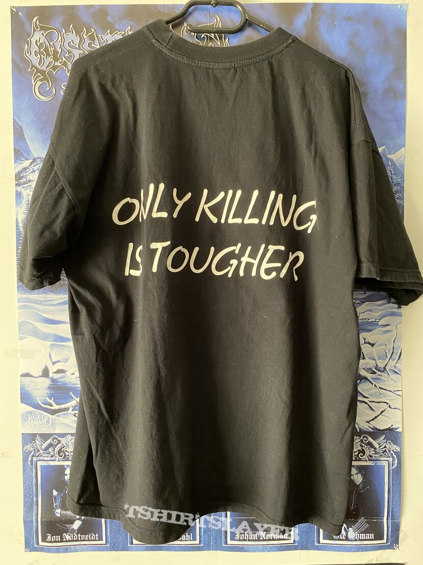 Massacra - Only Killing is tougher Shirt XL