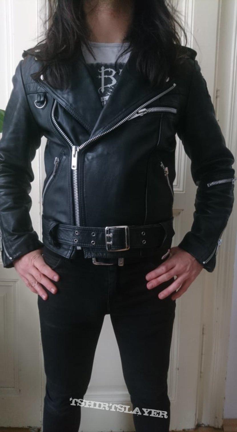 Krawehl motorcycle leather jacket size S