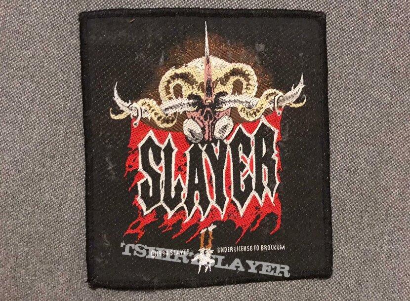 Slayer patch VTG
