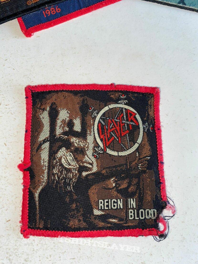 Slayer rib redborder patch