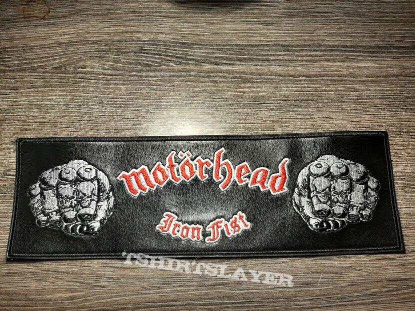 Iron fist leather strip