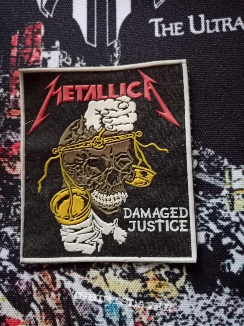 Metallica - Damaged Justice rubber patch