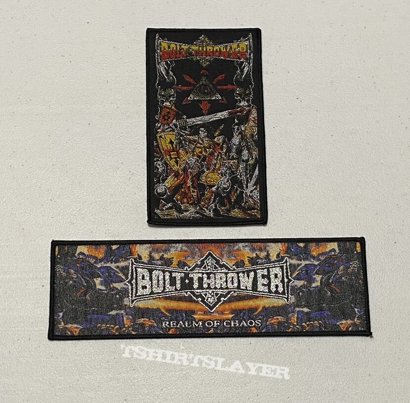 Bolt Thrower Patches