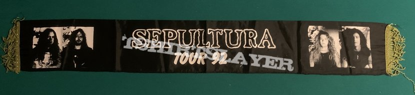 Sepultura - Arise 1992 Tour Scarf
