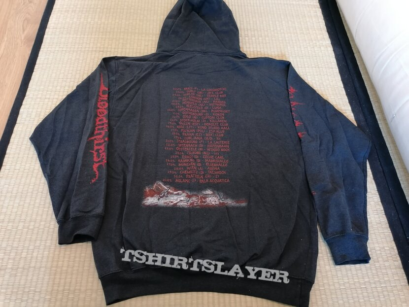 CANNIBAL CORPSE Bloodthirsty Tour No Mercy Festivals 2000 Hoodie