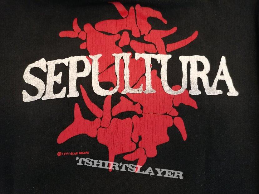 SEPULTURA Third World Posse Hoodie 1991