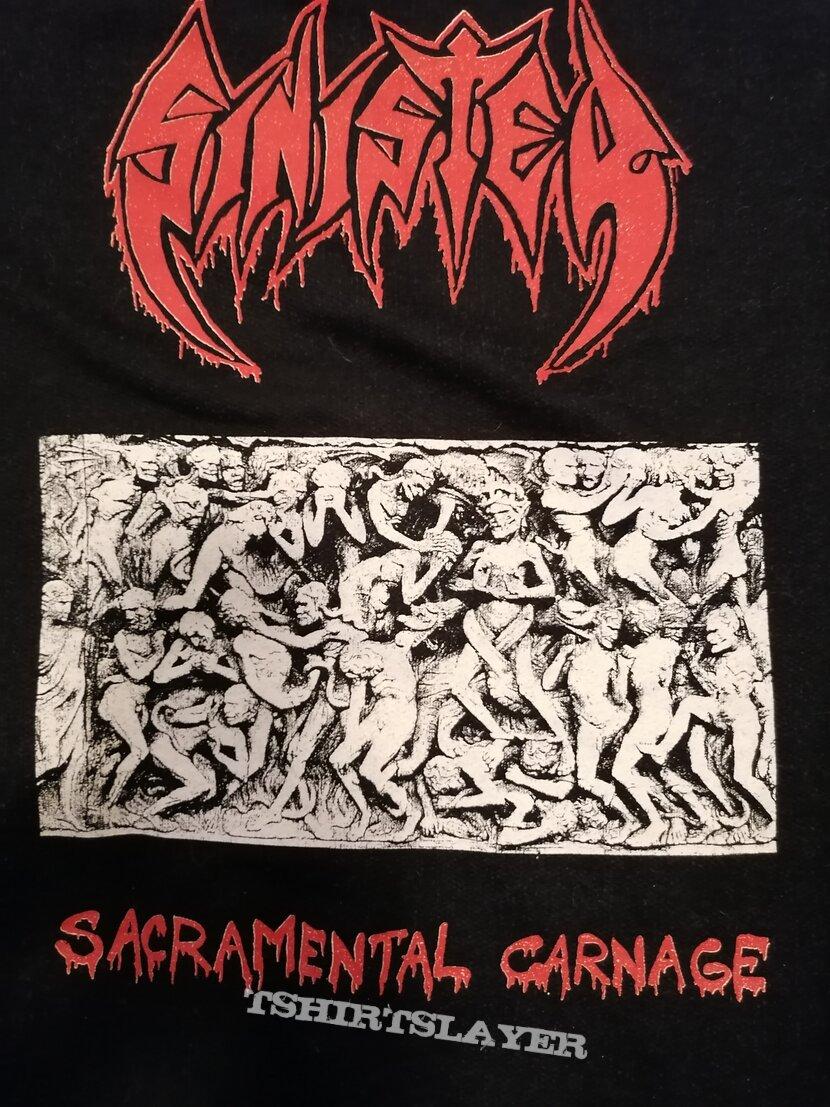 SINISTER Sacramental Carnage Hoodie 1991