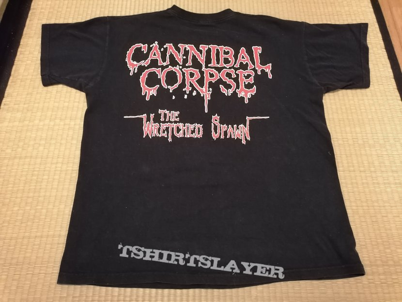 CANNIBAL CORPSE The Wretched Spawn (censored) TS