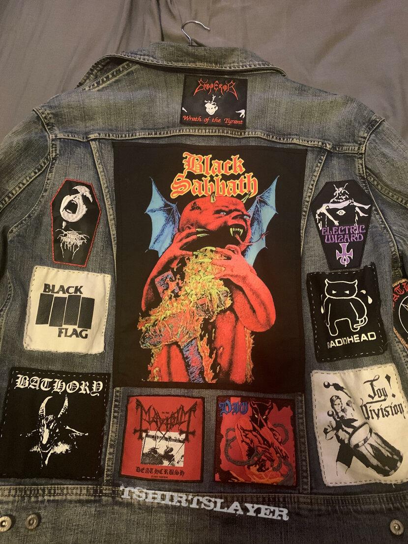 Mixed battle jacket