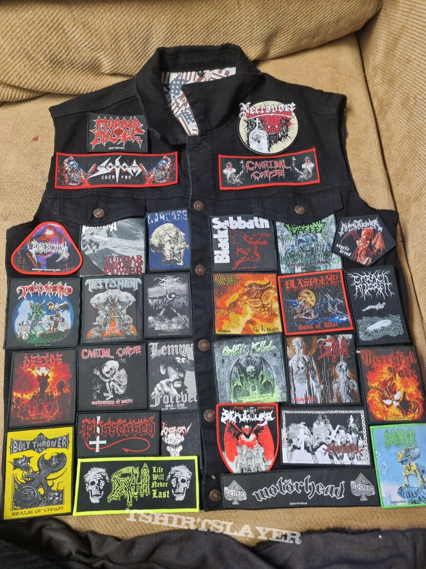 Layout for new vest