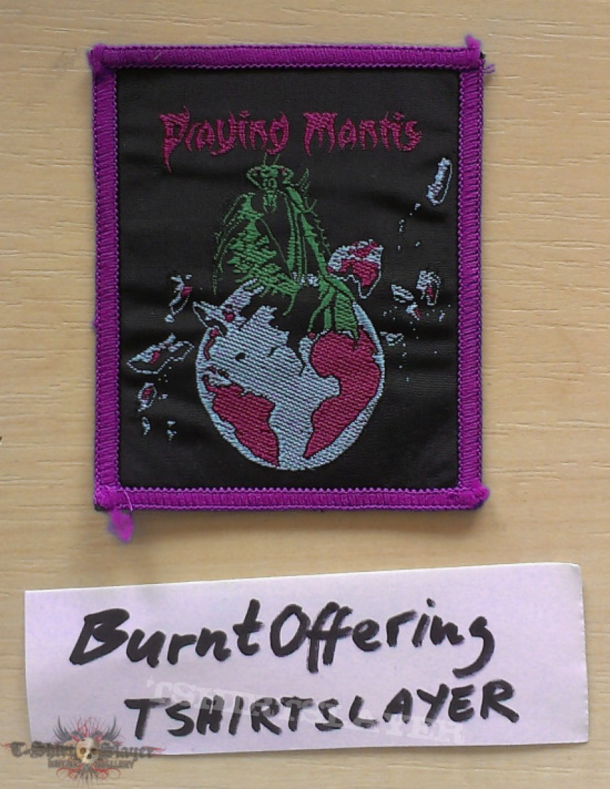 Praying Mantis Patch woven