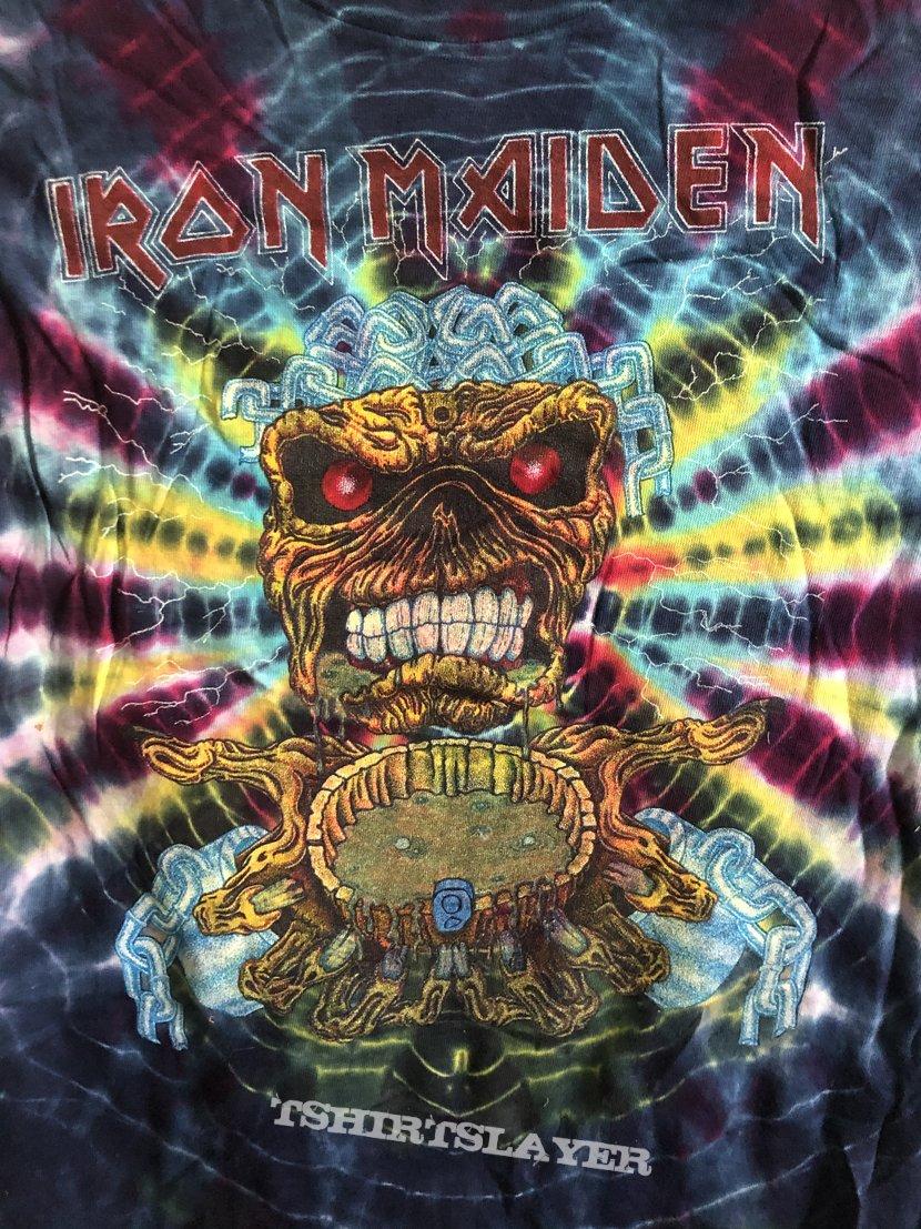 Iron Maiden Symmetria Tie Dye 1980 Deadstock