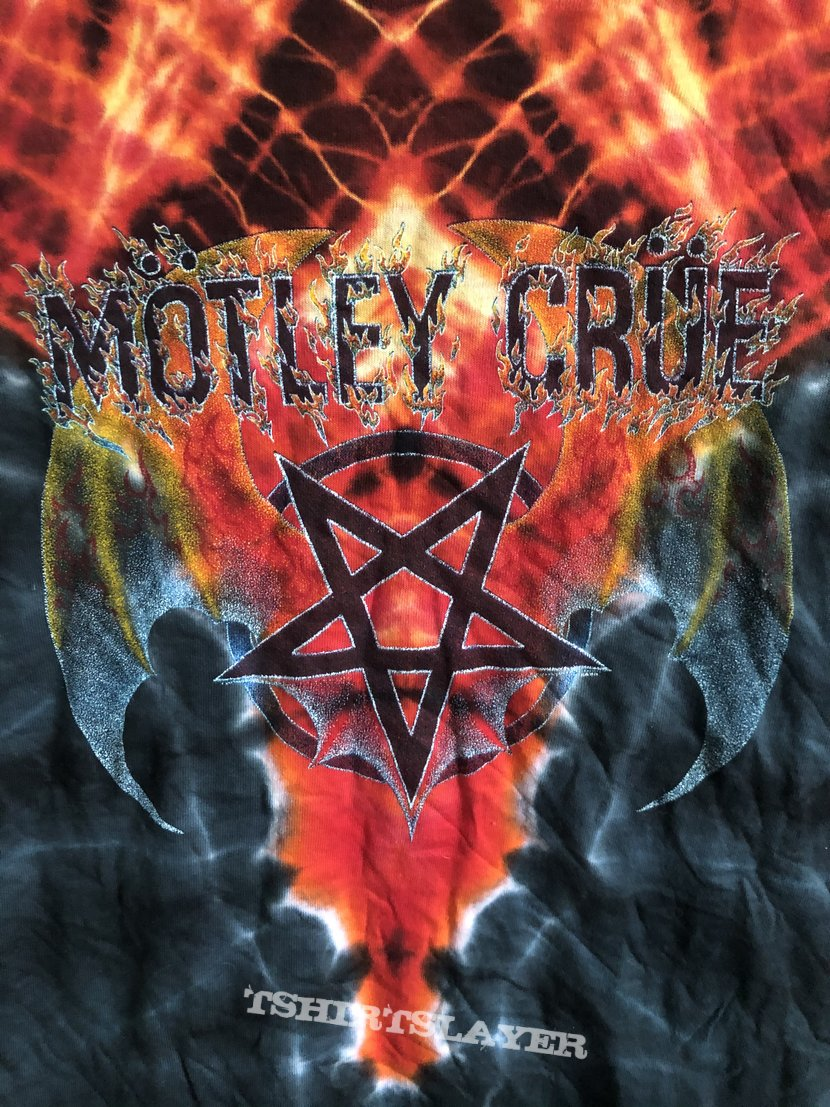 Mötley Crüe Symmetria Tie Dye 1980 Deadstock