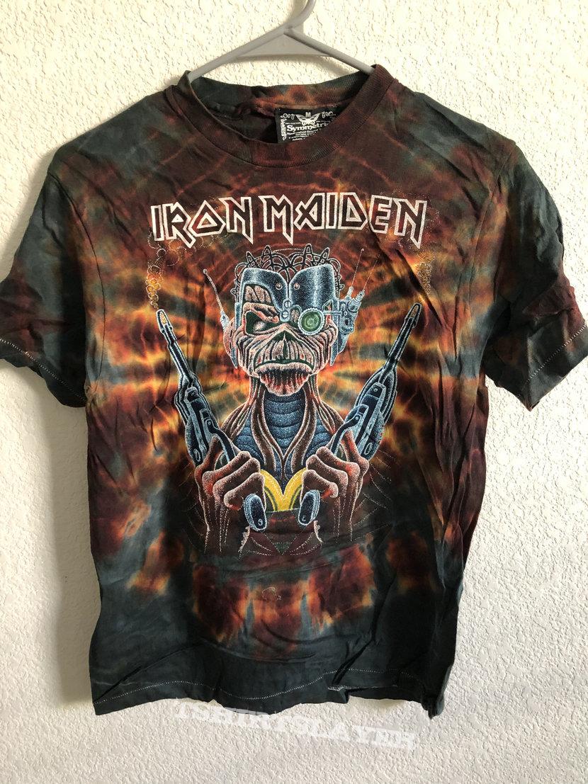 Iron Maiden Somewhere In Time Symmetria Tie Dye 1986 Deadstock