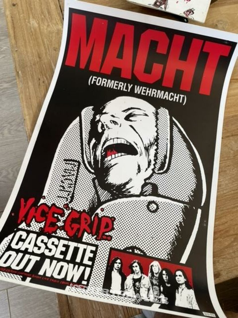 Vice Grip demo poster