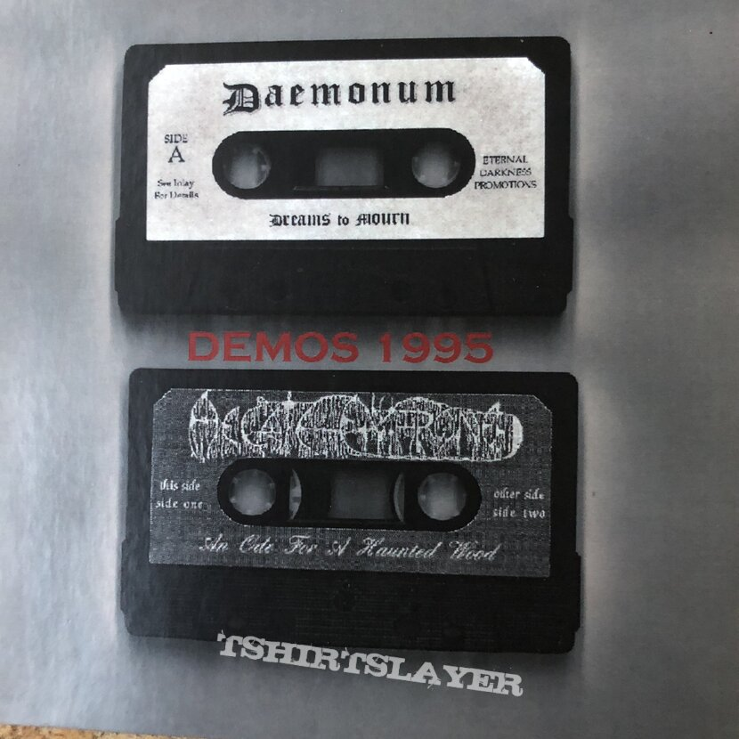 Hecate Enthroned and Daemonum demo's cd