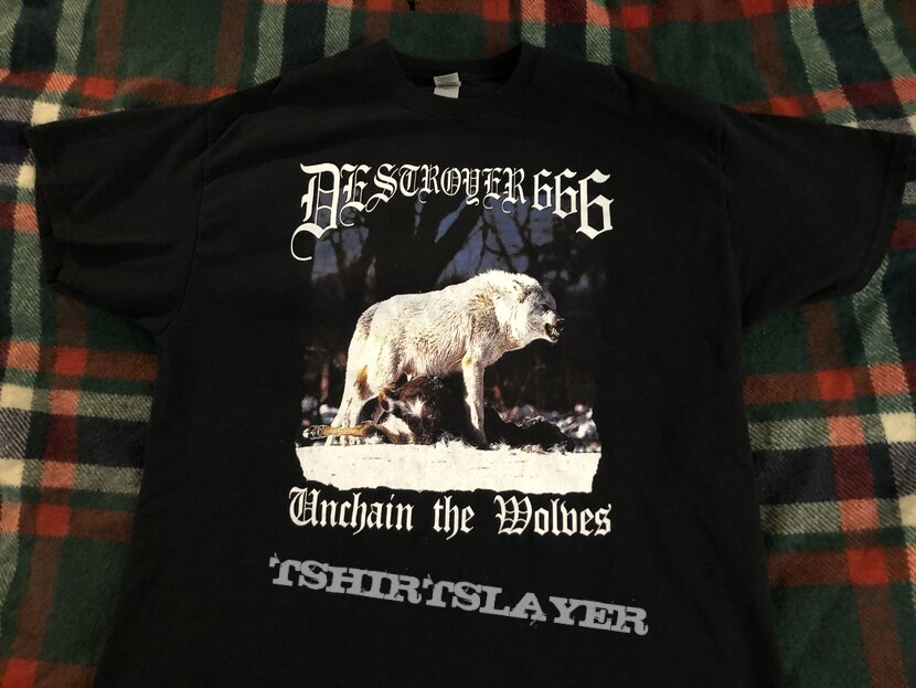 Destroyer 666 unchain the wolves