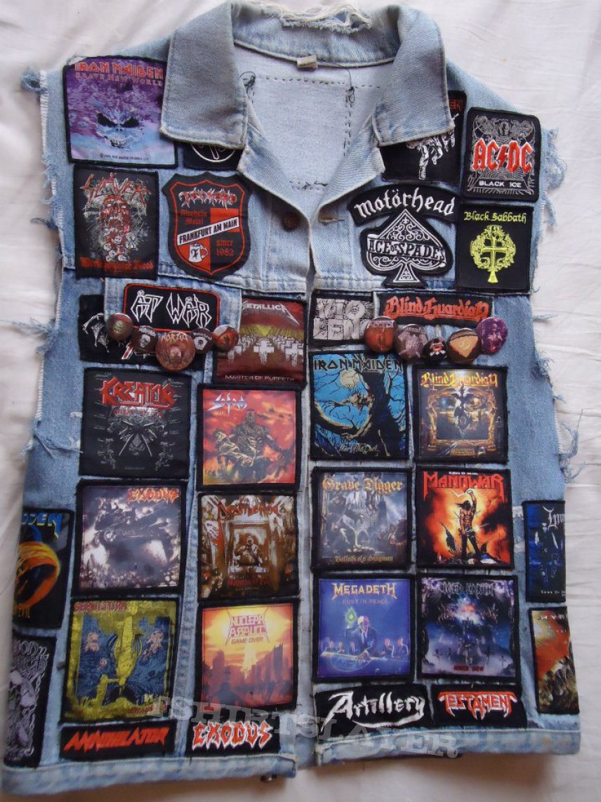 Battle Jacket - My first Battle Jacket