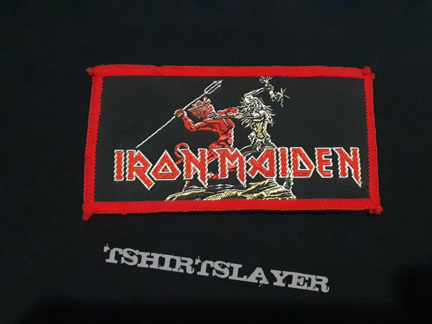 Iron Maiden - Run To The Hills - Original Vintage (Red Borders)