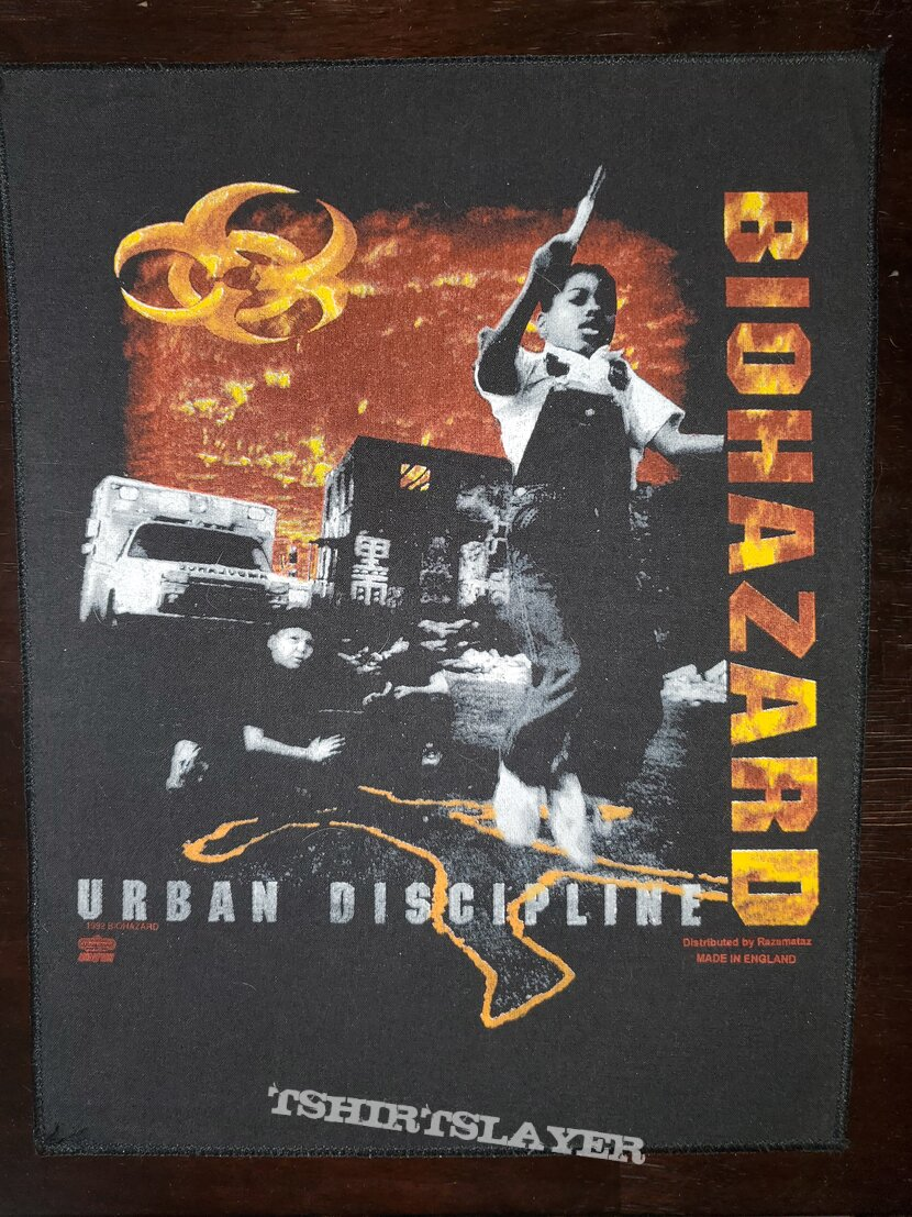 Urban Discipline Backpatch