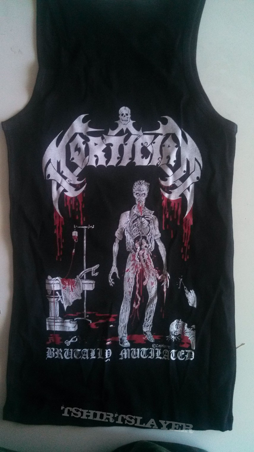 Mortician - Brutally Mutilated Muscle Shirt