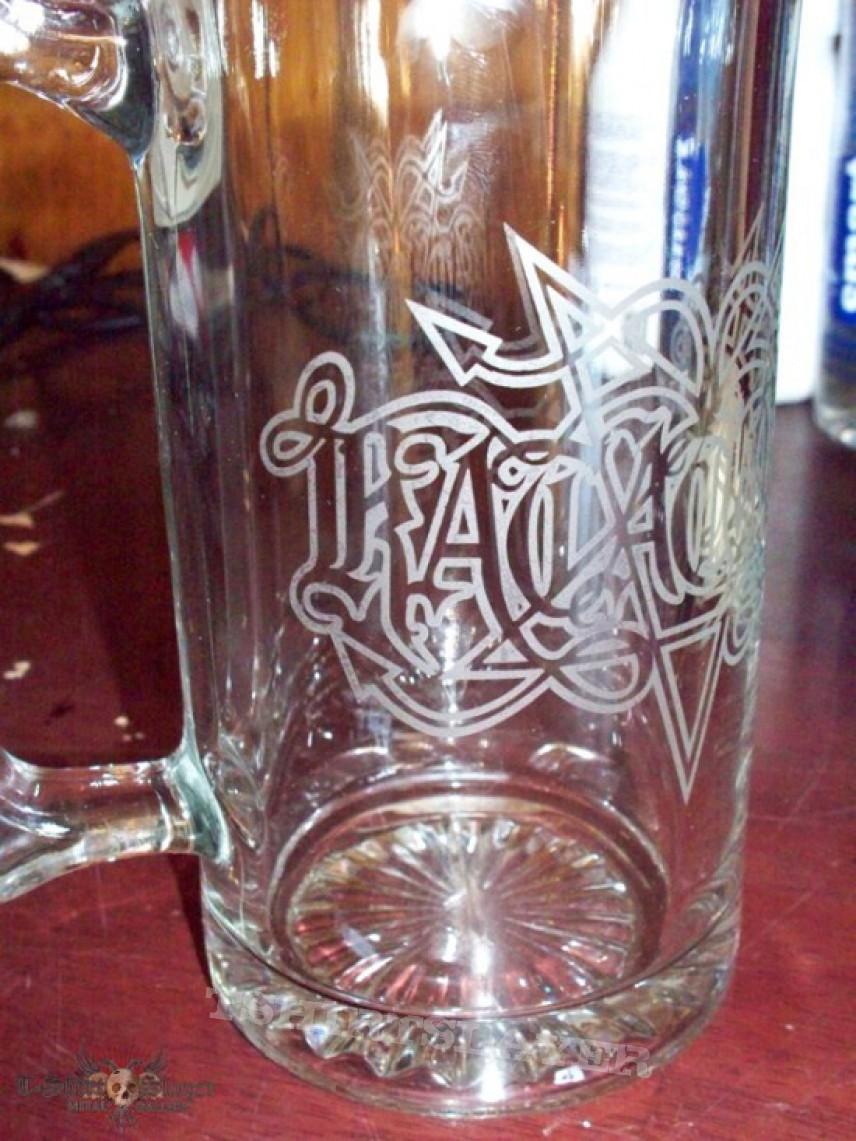 Other Collectable - KATATONIA pentagram Glass Beer Mug