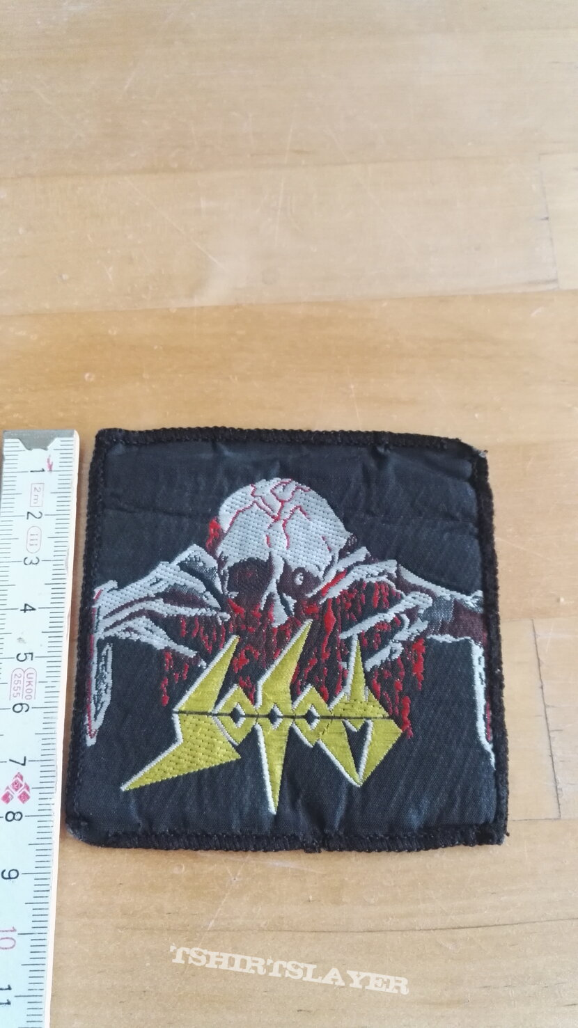 Sodom: Obsessed By Cruelty Patch, 90s, used