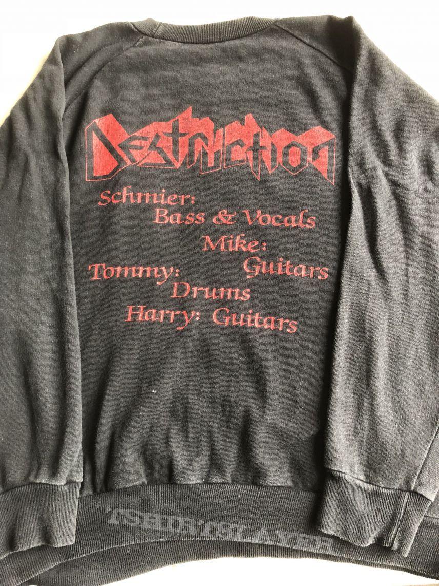 Destruction Eternal Devastation sweater 1986