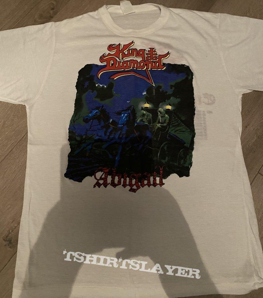 King Diamond Abigail tour shirt
