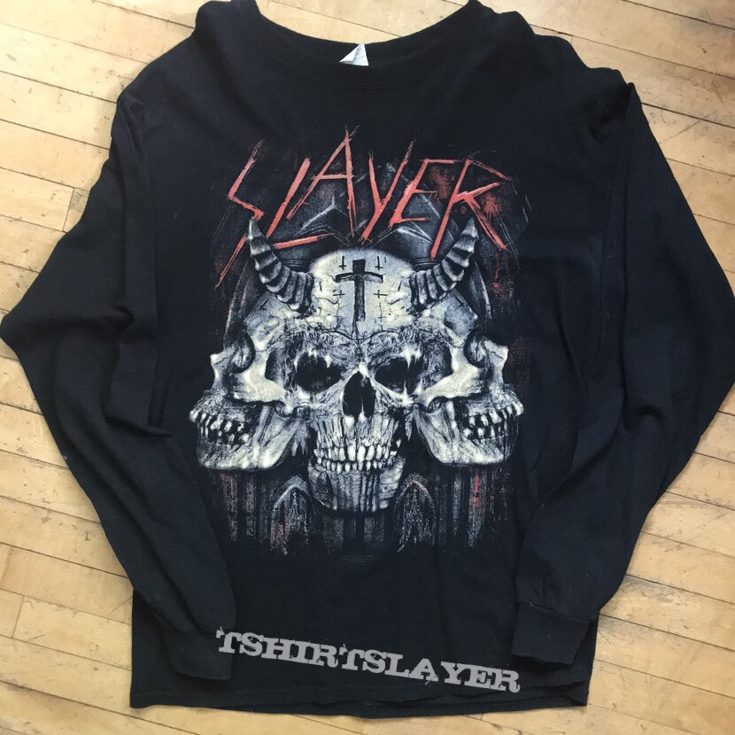 Slayer 2018 VIP package longsleeve tee
