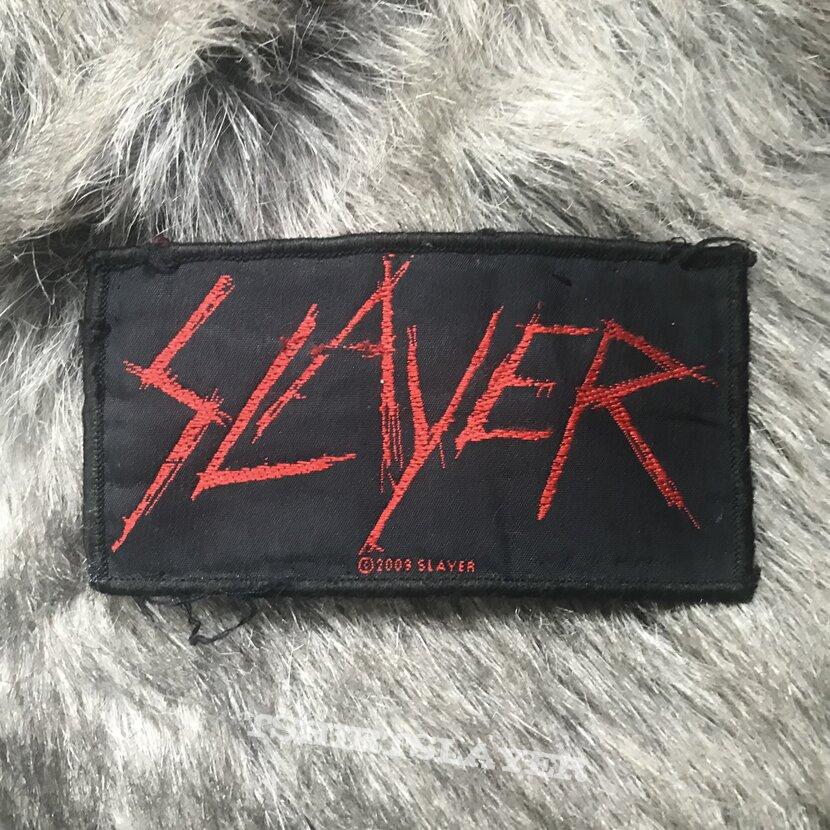 Slayer logo patch (2009)