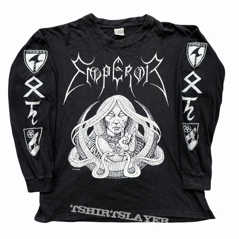 """Emperor """"Norwegian Witch """" 1994 Longsleeve"""