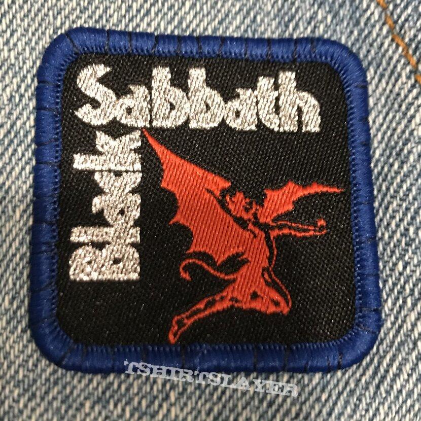 Black Sabbath logo mini patch