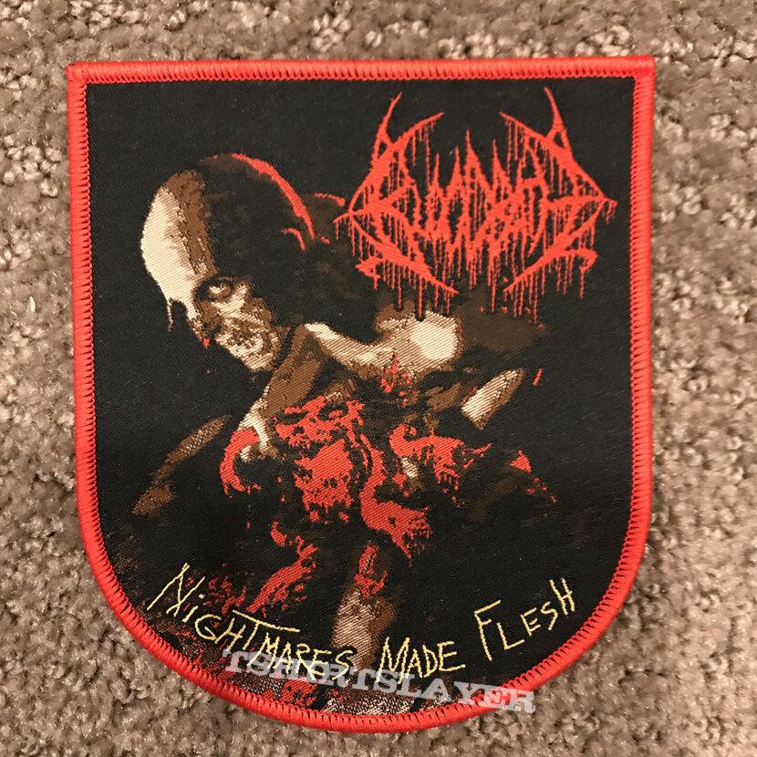 Bloodbath - Nightmares made Flesh shaped patch