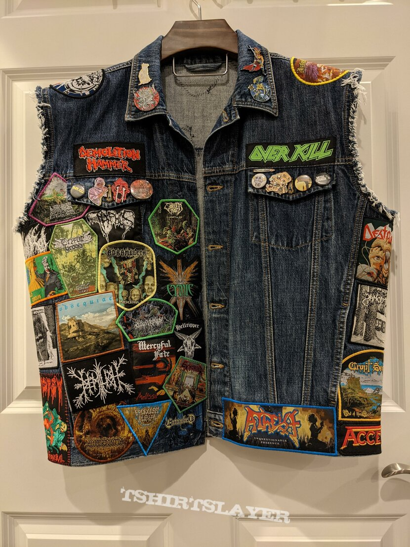 Work-in-Progress Patch Jacket Started During Lockdowns